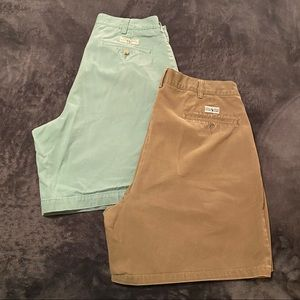 2 Polo by Ralph Lauren Pleated Shorts